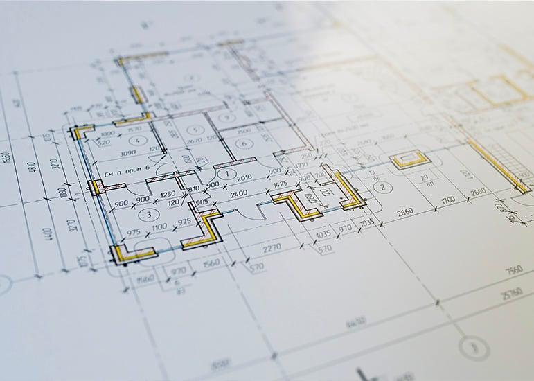 Plan de construction dans le cadre d'un prêt immobilier