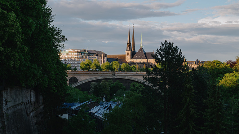 Pont Adolphe Luxembourg Ville