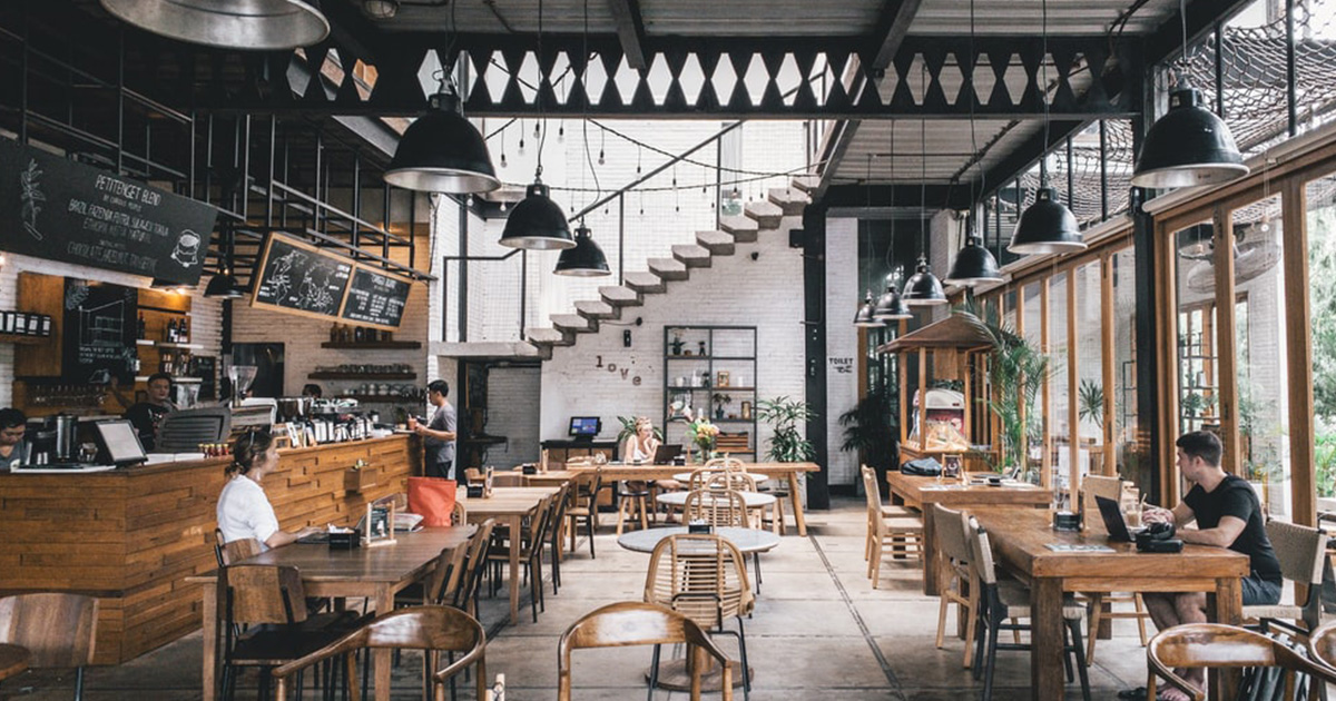 intérieur restaurant Luxembourg